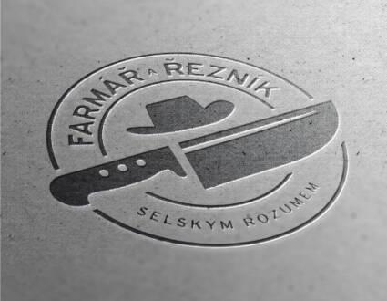 Logo značky Farmář Řezník